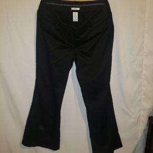 Rickis black suit pants size 16 wide leg